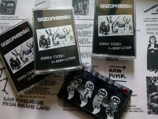 SKIZOPHRENIA - Single Ticket To Demolition Tape